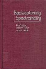 Backscattering Spectrometry - Wei-Kan Chu