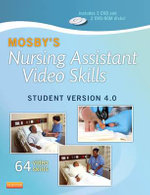 Mosby's Nursing Assistant Video Skills Student Version DVD 4.0 - Mosby