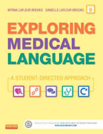 Exploring Medical Language - Text and Audio CDs Package : A Student-Directed Approach - Myrna LaFleur Brooks