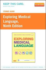 Exploring Medical Language Access Code : A Student-Directed Approach - Myrna LaFleur Brooks
