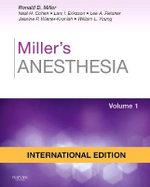 Miller's Anesthesia International Edition 2 Volume Set - Ronald Miller