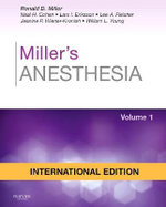 Miller's Anesthesia - Ronald Miller