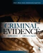 Criminal Evidence - Jefferson L. Ingram