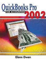 Quickbooks Pro 2002 for Accounting - Glenn Owen