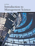 Introduction to Management Science, 3e : 900290029 - Sang M Lee