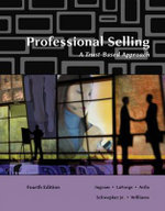 Professional Selling : A Trust-based Approach - Ramon A. Avila