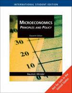 Microeconomics Principles : Principles and Policy - William J. Baumol