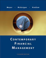 Contemporary Financial Management - R Charles Moyer