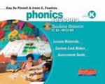 Phonics Lessons with CD-ROM, Grade 2 : Letters, Words, and How They Work - Gay Su Pinnell