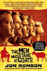 The Men Who Stare At Goats : Film Tie-in - Jon Ronson