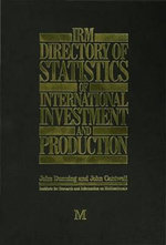 Instructor's Resource Manual for Directory of Statistics of International Investment and Production : Finance Capital Markets - John H. Dunning