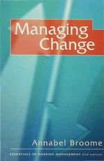 Managing Change - Annabel Broome