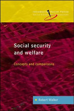 Social Security and Welfare : Concepts and Comparisons - Robert Walker