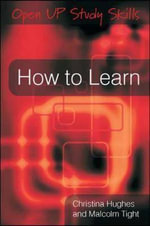 How to Learn - Dr Christina Hughes