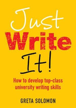Just Write it - Greta Solomon