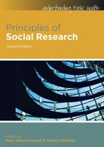 Principles of Social Research - Mary Alison Durand