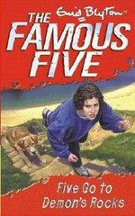Five Go to Demon's Rocks : The Famous Five Series : Book 19 - Enid Blyton