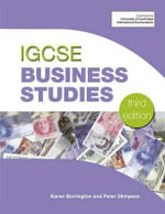 IGCSE Business Studies - Peter Stimpson
