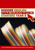 Hodder English Interactive Starters for Year 8 : Starters, Year 8 - Sue Hackman