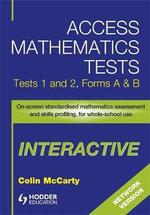 Access Mathematics Tests Interactive (AMTI) 1 & 2 Network CD-ROM : Interactive CD-ROM (network Version) Tests 1 & 2 - Colin McCarty