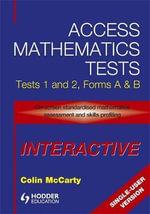Access Mathematics Tests Interactive (AMTI) 1 & 2 Single-User CD-ROM : Interactive CD-ROM (single User Version) v. 1 & 2 - Colin McCarty