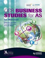 OCR Business Studies for AS - Ian Marcouse