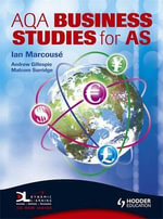 AQA Business Studies for AS :  The Marcouse Edition - Ian Marcouse