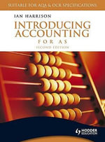 Introducing Accounting for AS - Ian Harrison