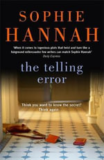 The Telling Error - Sophie Hannah
