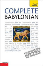 Complete Babylonian : Teach Yourself - Martin Worthington
