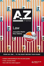 A-Z Law Handbook :  Digital Edition - Jacqueline Martin