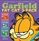 Garfield Fat Cat : 3 x Books in 1 x Pack, Volume 1 : Garfield at Large, Garfield Gains Weight & Garfield Bigger Than Life - Jim Davis