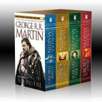 George R. R. Martin's a Game of Thrones 4-Book Boxed Set (Vol I - IV) :  A Game of Thrones, a Clash of Kings, a Storm of Swords, and a Feast for Crows - George R. R. Martin