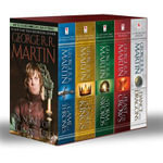 George R. R. Martin's a Game of Thrones 5-Book Boxed Set (Song of Ice and Fire Series) a Game of Thrones, a Clash of Kings, a Storm of Swords, a Feast for Crows, and a Dance with Dragons : A Game of Thrones, a Clash of Kings, a Storm of Swords, a Feast for Crows, and a Dance with Dragons - George R R Martin