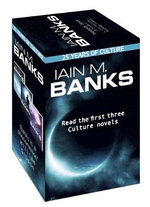 Iain M. Banks Culture Box Set : Consider Phlebas, The Player of Games & Use of Weapons - Iain M Banks