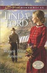 Wagon Train Reunion : Love Inspired Historical - Linda Ford