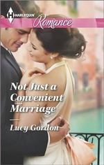 Not Just a Convenient Marriage : Harlequin Romance Large Print - Lucy Gordon