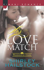 His Love Match : Weddings by Diana - Shirley Hailstock
