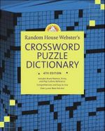 Rhw Crossword Dict 4Ed (Hc) - Stephen Elliott