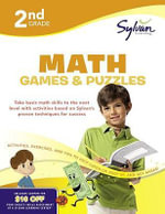 Second Grade Math Games & Puzzles (Sylvan Workbooks) : Math Workbooks - Sylvan Learning