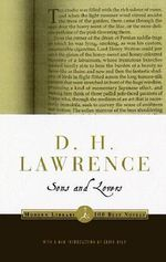 Sons and Lovers : Modern Library Ser. - D. H. Lawrence