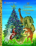 The Golden Christmas Tree : Big Little Golden Books (Hardcover) - Jan Wahl