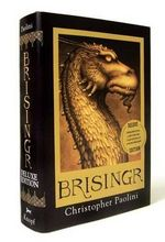Brisingr : Inheritance Cycle Series : Book 3 (Deluxe Edition) - Christopher Paolini