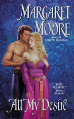 All My Desire Pb : Avon Romance - Margaret Moore