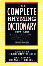 Complete Rhyming Dictionary - C. Wood