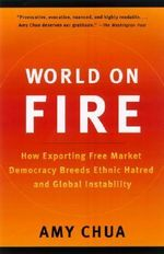 World on Fire : How Exporting Free Market Democracy Breeds Ethnic Hatred and Global Instability - Amy Chua