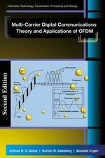 Multi-carrier Digital Communications : Theory and Applications of OFDM - Ahmad R.S. Bahai