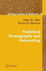 Statistical Demography and Forecasting - Juha M. Alho