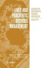Liver and Pancreatic Diseases Management : Advances in Experimental Medicine and Biology