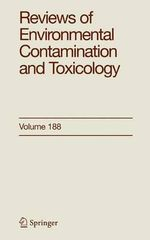 Reviews of Environmental Contamination and Toxicology 188 : v. 188